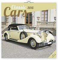 Kalendář 2015 - Classic Cars - nástěnný (GB, DE, FR, IT, ES, NL)