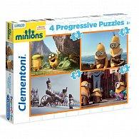 Puzzle Progressive 4v1 Mimoni