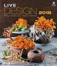 Kalendář nástěnný 2018 - Live Design/Exclusive
