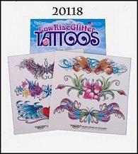 Tetování závěs květy