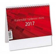 Kalendář stolní 2017 - MINI/Týdenní