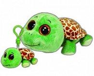 Plyš očka želva + klíčenka