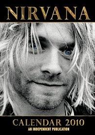 Kurt Cobain Nirvana 2010 - nástěnný kalendář