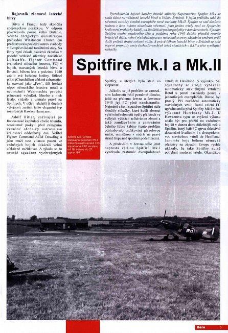 Náhled Spitfire Mk.I a Mk.II - 2.díl