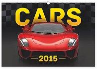 Kalendář 2015 - Auta - nástěnný s prodlouženými zády