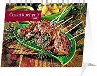 Kalendář 2013 stolní - Česká kuchyně Praktik, 16,5 x 13 cm