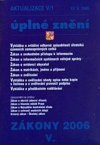 Aktualizace V/1 2006