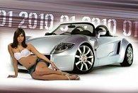 Seductive Cars 2010 - nástěnný kalendář