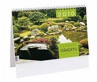 Zahrady orientu 2010 - stolní kalendář