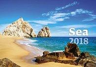 Kalendář nástěnný 2018 - Sea