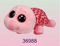 Plyš očka želva růžová velká