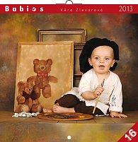 Kalendář 2013 poznámkový - Babies Věra Zlevorová, 30 x 60 cm