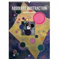 Kalendář nástěnný 2017 - Wassily Kandinsky/Absolutní abstrakce