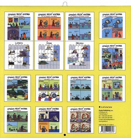 Náhled Opráski sčeskí historje - Kalendář 2017