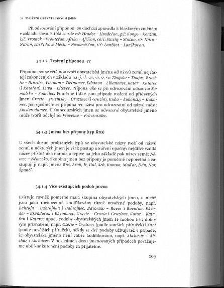 Náhled Akademická příručka českého jazyka