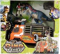 Sada Lovci dinosaurů - dinosaurus, vozidlo a doplňky