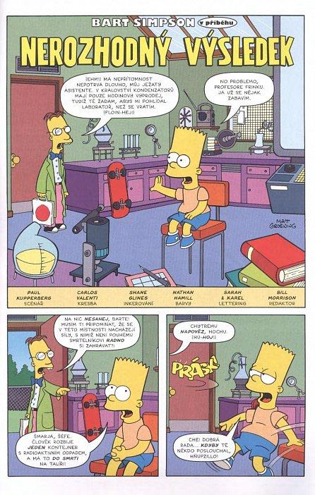 Náhled Simpsonovi - Bart Simpson 7/2017 - Stínič názvu