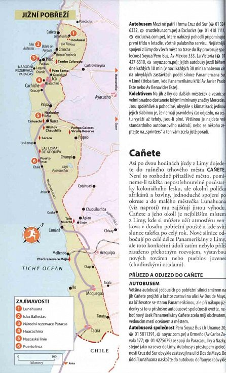 Náhled Peru - Turistický průvodce