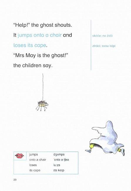 Náhled Školní výlet na hrad - Moje první čtení - Angličtina