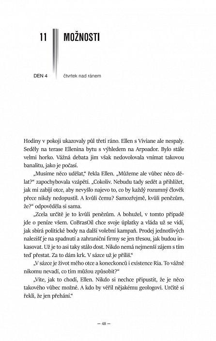 Náhled Objetí mravenečníka – napínavý román z Rio de Janeira