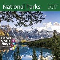 Kalendář nástěnný 2017 - National Parks 300x300cm