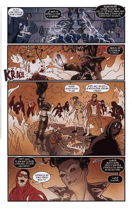 Náhled Blesk komiks 06 - Dechberoucí zázrak - Zrada v černé 5/2016