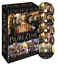 Pilíře země 1.- 4. část - DVD (+bonusy)