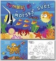 Mořský svět s říkadly - omalovánka