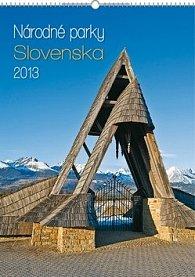 Kalendář 2013 nástěnný-Národné parky Slo