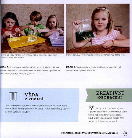 Náhled Zábavné vědecké pokusy pro děti - 52 experimentů, které zvládnete doma v kuchyni