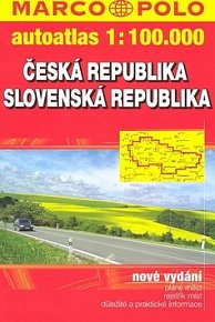 Česká a Slovenská republika 1:100 000