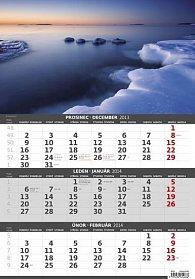 Kalendář 2014 - Čtyři roční období  - 3měsíční - nástěnný