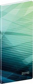 Diář 2015 - Abstrakt - Kapesní plánovací měsíční