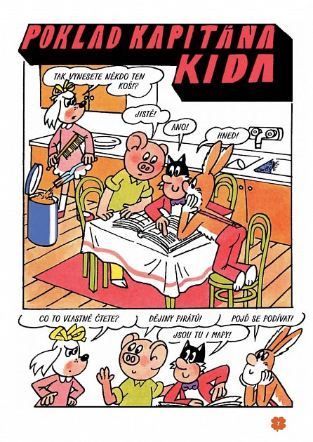 Náhled Poklad kapitána Kida - 4. vydání