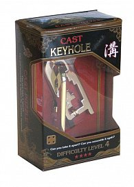 Hanayama Key Hole Gold 4
