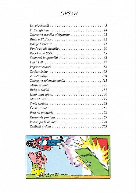 Náhled Báječné příběhy Čtyřlístku 1979 až 1982 (5.velká kniha)