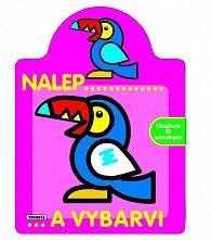 Nalepuj a vybarvuj - papoušek