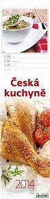 Kalendář 2014 - Česká kuchyně - nástěnný