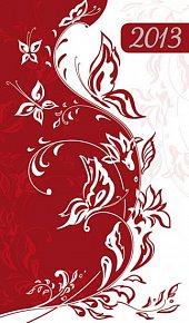 Diář 2013 - Red, 9 x 15 cm