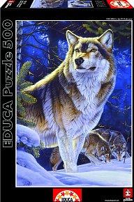 Puzzle Vlk na stráži 500 dílků