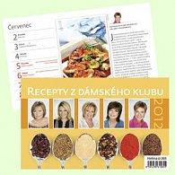 Kalendář stolní 2012 - Recepty z dámského klubu