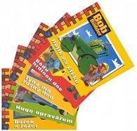 Balíček 5ks Týna má rušný den+Béďa hrdinou+Bořek a ježci+Hugo opravář.+Rolík n