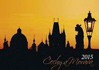 Čechy a Morava - nástěnný kalendář 2015