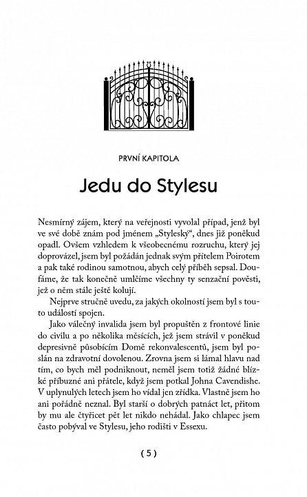 Náhled Poirot: Záhada na zámku Styles - 3. vydání