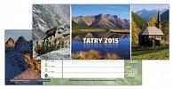 Tatry 2015 Stolový kalendár