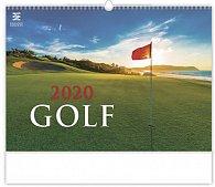 Kalendář nástěnný 2020 - Golf