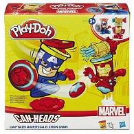 Play-Doh kelímky ve tvaru hrdinů marvel