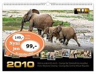 Mýtina pralesních slonů 2010 - nástěnný kalendář