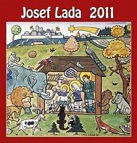 Josef Lada Vánoce 2011 - nástěnný kalendář
