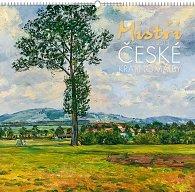 Kalendář 2013 nástěnný - Mistři české krajinomalby, 48 x 46 cm